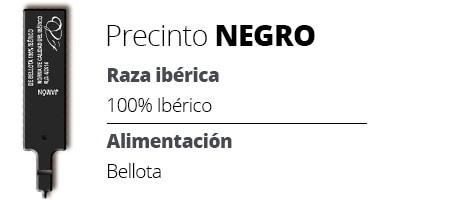 Precinto negro 100% Ibérico Bellota