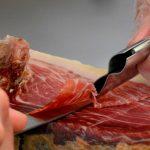 cortar jamón serrano